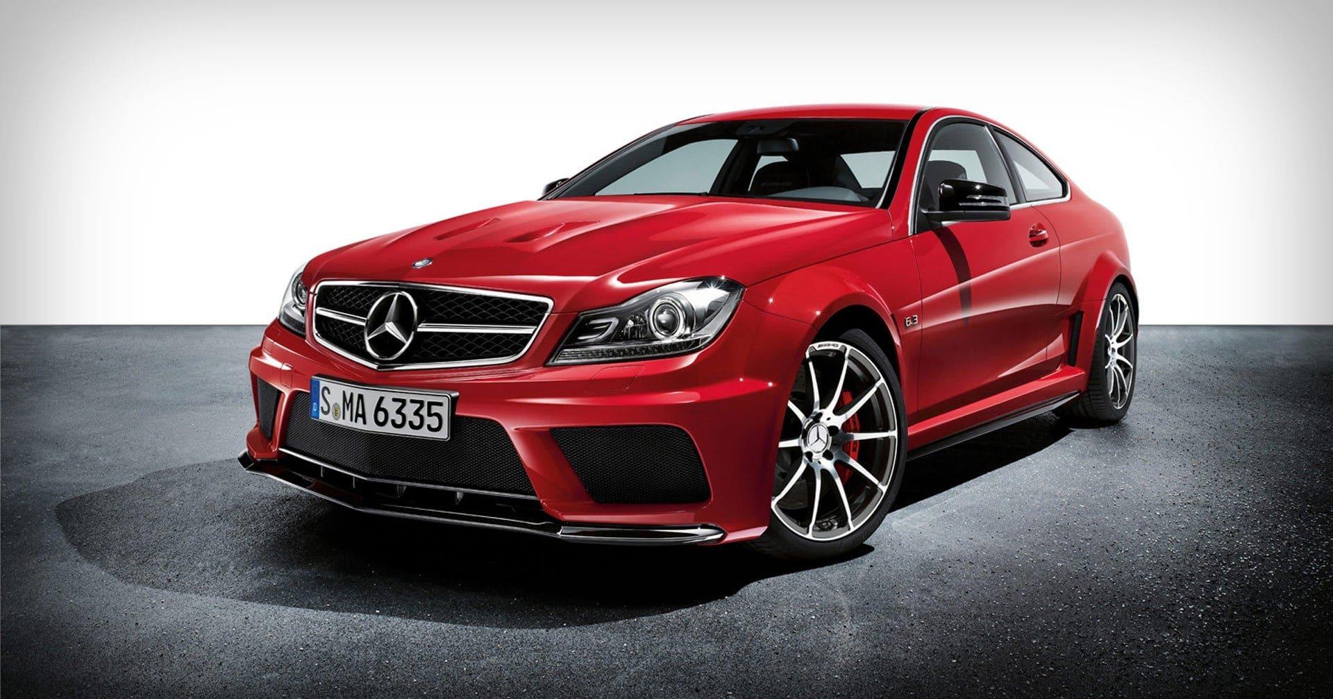 Mercedes-Benz red